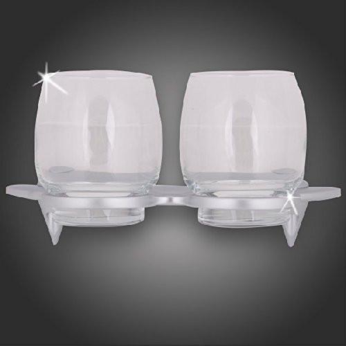 Doppelter Becher-Glashalter mit Gläser BZ4060