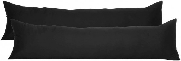 2er Set Kissenbezug 100% Baumwolle mit Reissverschluss