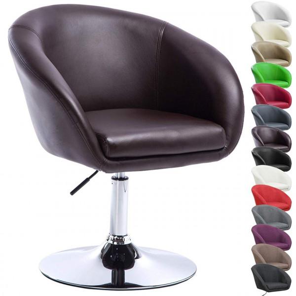 Leatherette bar chair - model Sina