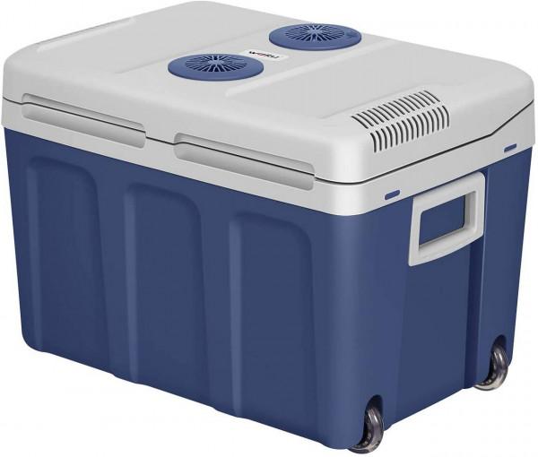 Kühlbox mit Rollen Warm-Kalt 40L für Auto & Camping,dunkelblau