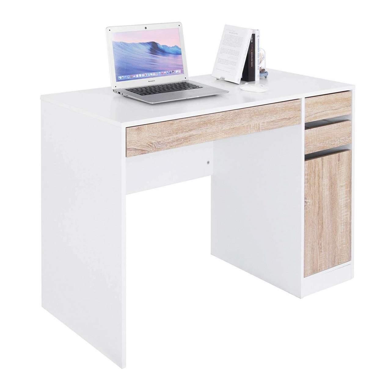 Woltu Schreibtisch Ts42ws Computertisch Bürotisch Arbeitstisch Pc